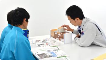 川中島中学校 職場体験学習の様子