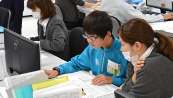 川中島中学校 G&D事業部の様子