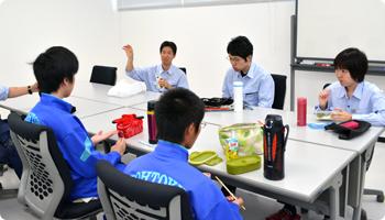 広徳中学校 非破壊試験部の様子