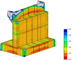 マスコンクリートの温度応力解析
