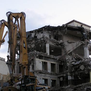 建築物の解体などに伴う環境調査