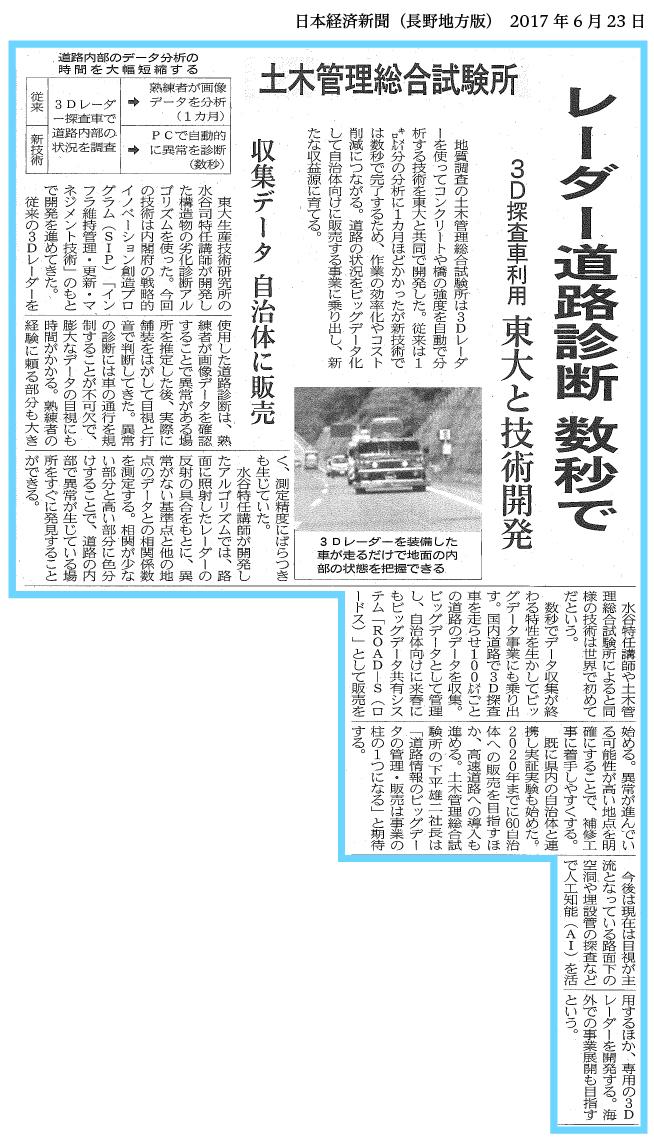 日経 6月23日