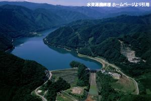 牧尾ダム風景
